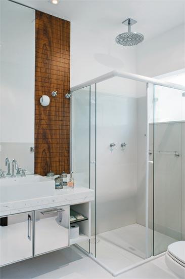 Chuveiro de Teto  tijolosetecid -> Nicho Para Box Banheiro Pequeno