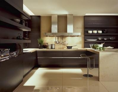 Cozinhas Com Madeira Escura Tijolosetecidos