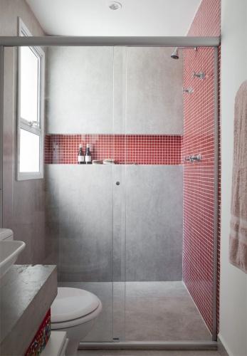 Nicho no Box – Dimensões e Como Fazer  tijolosetecidos -> Nicho Box Banheiro Medidas