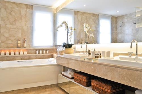 Nicho  tijolosetecidos -> Banheiro Pequeno C Nicho