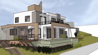 Projeto arquitet nico tijolosetecidos for Croquis de casas