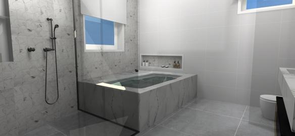 Minha Casa – Projeto  tijolosetecidos -> Banheiro Pequeno Com Banheira De Alvenaria